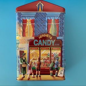 Hershey Village Series Canister #1 Candy Store